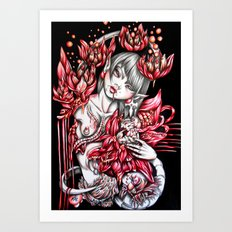 Pregnancy of Heart Art Print