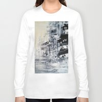 singapore Long Sleeve T-shirts featuring Singapore II by Kasia Pawlak