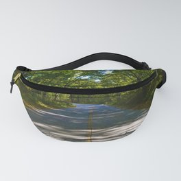 The road to Point Pelee National Park, Ontario Canada Fanny Pack