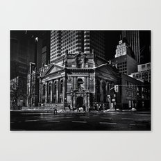 The Hockey Hall Of Fame Toronto Canada Canvas Print