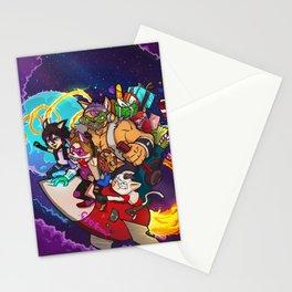 Gatetemon Salva la Navidad Stationery Cards