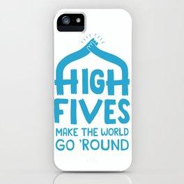 Hi-Fives iPhone Case