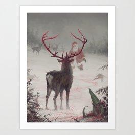 Rudolph uprising Art Print