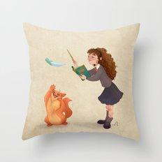 Wingardium Leviosa Throw Pillow