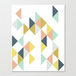Modern Geometric Design Canvas Print