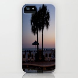 Palm Trees & Sunset iPhone Case