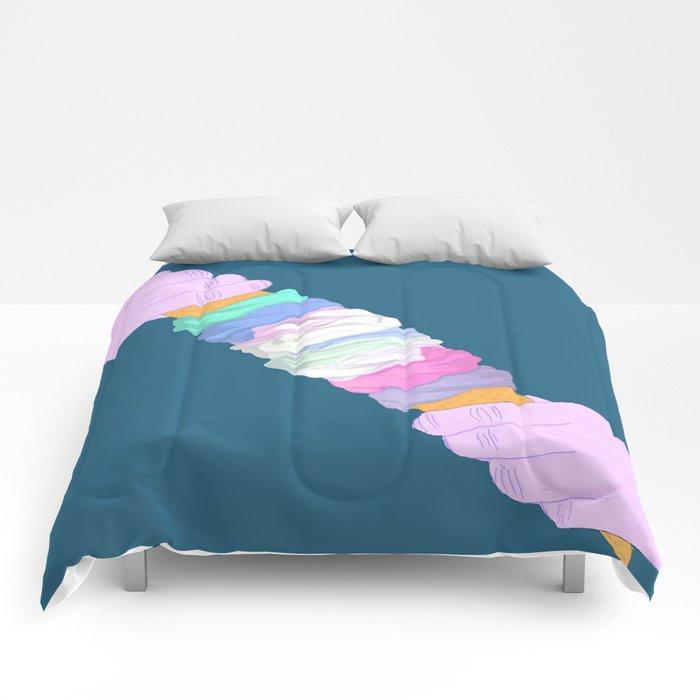 DOUBLE TWIST Comforters