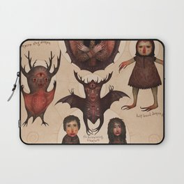 Monsters of the Doomed Village Laptop Sleeve