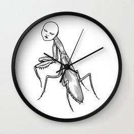 La Mante Religieuse Wall Clock
