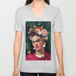 Frida Kahlo :: World Women's Day Unisex V-Neck