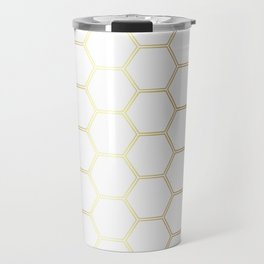 Honeycomb - Gold #170 Travel Mug