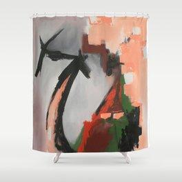 Still space Shower Curtain
