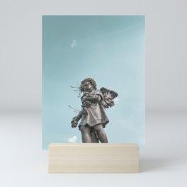 Statue of an Angel Mini Art Print