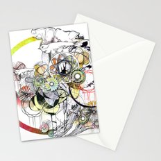 bouquet 3 Stationery Cards