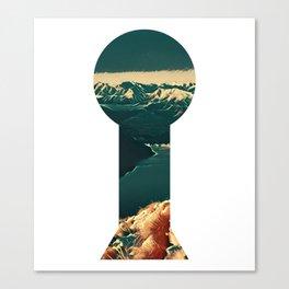 Inward Myself Lake Vaughn Canvas Print