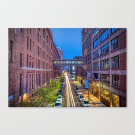 Sky Bridge Over NYC Canvas Print