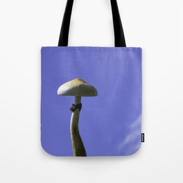 mushroom in the sky Tote Bag