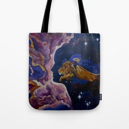 Lily the Lionhearted Tote Bag