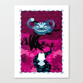 Cheshire smile Canvas Print