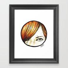 Sucker for a Redhead Framed Art Print