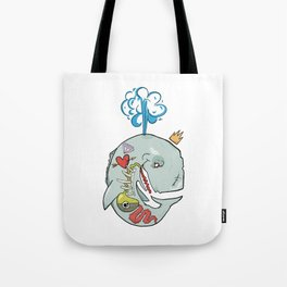 Whale's Belly Tote Bag