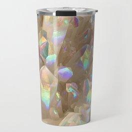 Unicorn Horn Aura Crystals Travel Mug