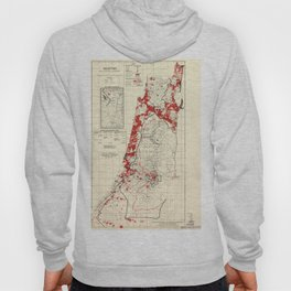 Map of Palestine Index to Villages & Settlements 1940's Hoody