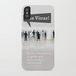 The Vicar iPhone Case