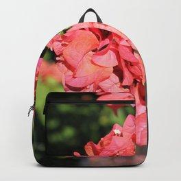 Hot Coral Floral Backpack