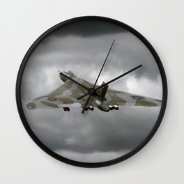 Vulcan to the sky Wall Clock