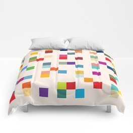 Abstract Retro Video Game Comforters