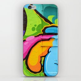 Psychedelic Graffiti (Color) iPhone Skin