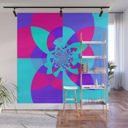 Kaleidoscope Mandala Unicorn Colors Wall Mural