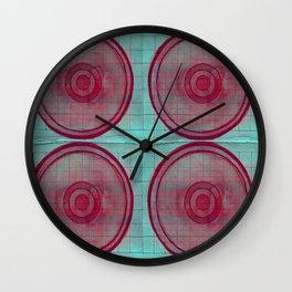 Neon Petri Dish Wall Clock