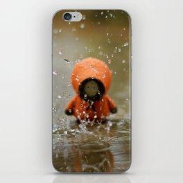 The Rain KILLED KENNY!  iPhone Skin