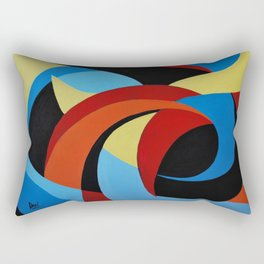Abstract n.1 - Dancing. Everything Dissolve Rectangular Pillow