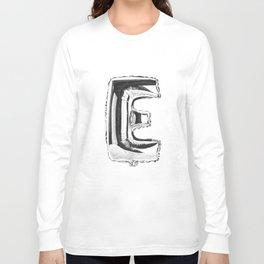 Letter E Long Sleeve T-shirt