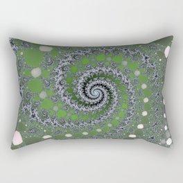 Fractal Swirl Rectangular Pillow