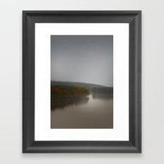 floating out slowly Framed Art Print