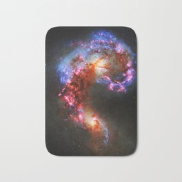 The Antennae Galaxies Bath Mat