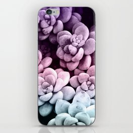 Dreamy Succulents #1 #pastel #decor #art #society6 iPhone Skin
