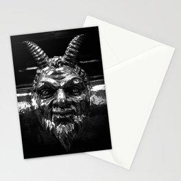 Devil's likeness Stationery Cards