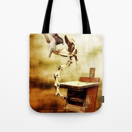 Feeding the Dragon Tote Bag