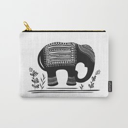 Lucky Elephant Carry-All Pouch