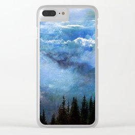 Amazing Nature - Mountains 2 Clear iPhone Case