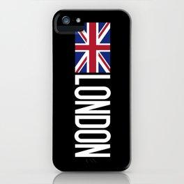 Britain: British Flag & London iPhone Case