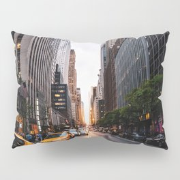 Manhattanhenge, 2018.05.30 Pillow Sham