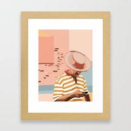 italian man Framed Art Print