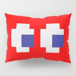 Retro Game Ghost Pillow Sham