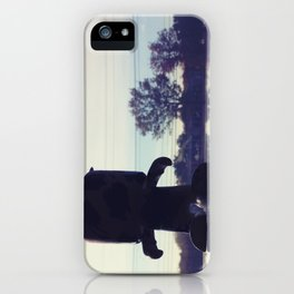 The Gunns Figure iPhone Case